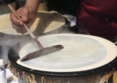 making-crepes